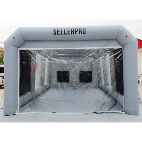 Ventilation cabine de peinture gonflable