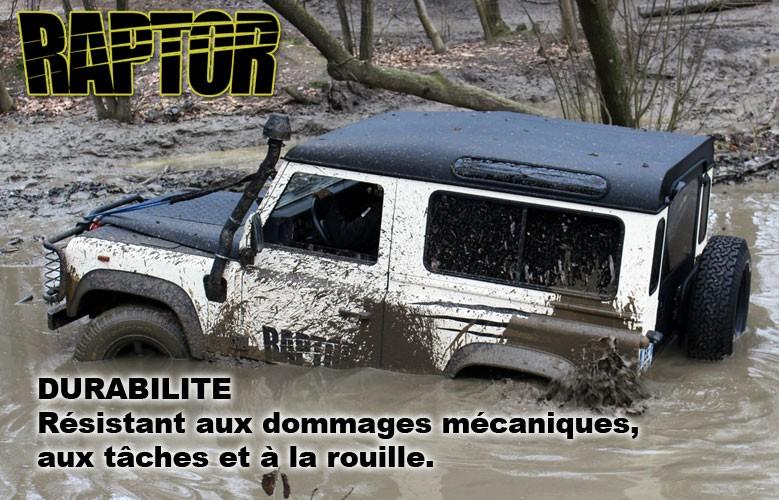 DURABILITE Résistant aux dommages mécaniques,  aux tâches et à la rouille.