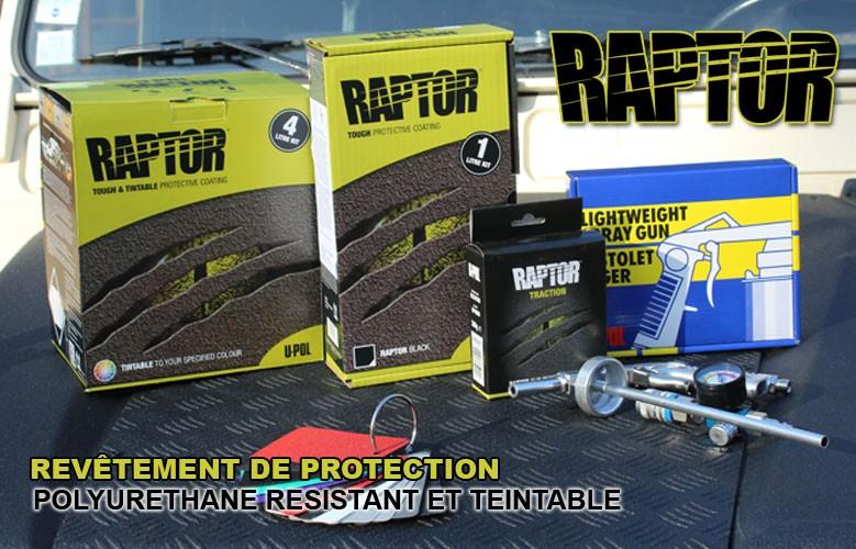 Raptor Liner, le Révetement révolutionnaire