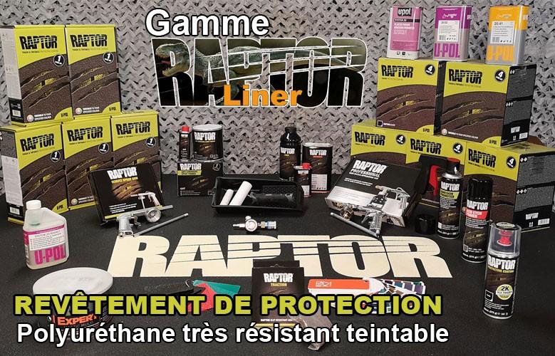 Cliquez ici pour découvrir notre gamme de produit Raptor Liner, le Révetement révolutionnaire