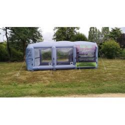 Location de Cabine de peinture gonflable à domicile