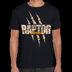 Tee Shirt DESERT CAMO USA RAPTOR LINER