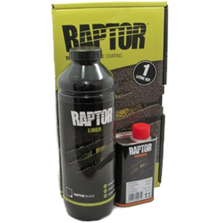 Lot Raptor Liner Noir