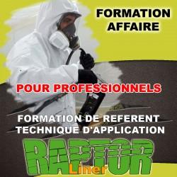 """Formation """"AFFAIRE PRO"""" de référent technique d'application """"RAPTOR LINER"""" réservé aux Professionnels."""