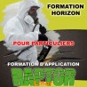 """Formation """"HORIZON"""" d'application """"RAPTOR LINER"""" réservé aux particuliers."""