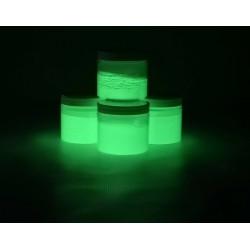 Poudre Phosphorescente Verte 15-35µm 200gr
