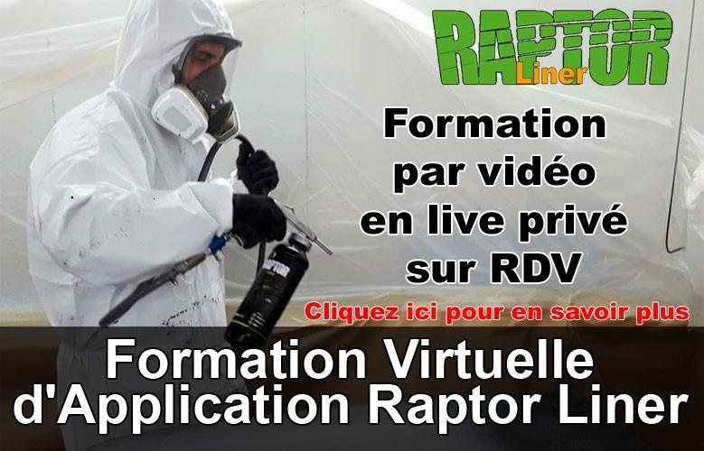 Formation virtuelle d'application Raptor Liner