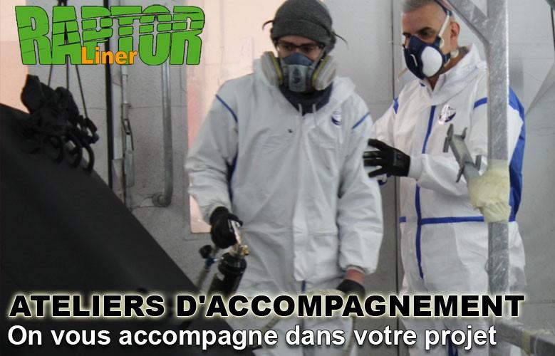 Ateliers d'Accompagnement, on vous accompagne dans votre projet Raptor Liner