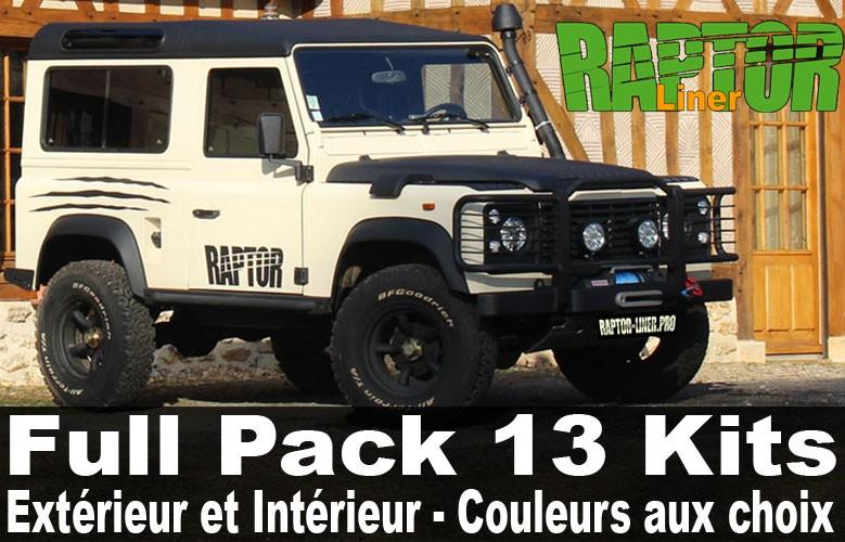 Full Pack 4x4 Extérieur et Intérieur