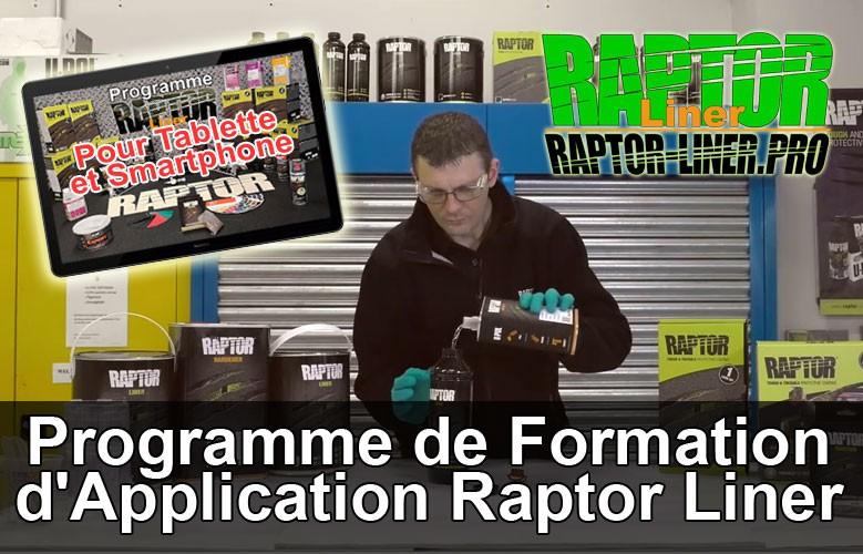 Programme de Formation d'Application Raptor Liner